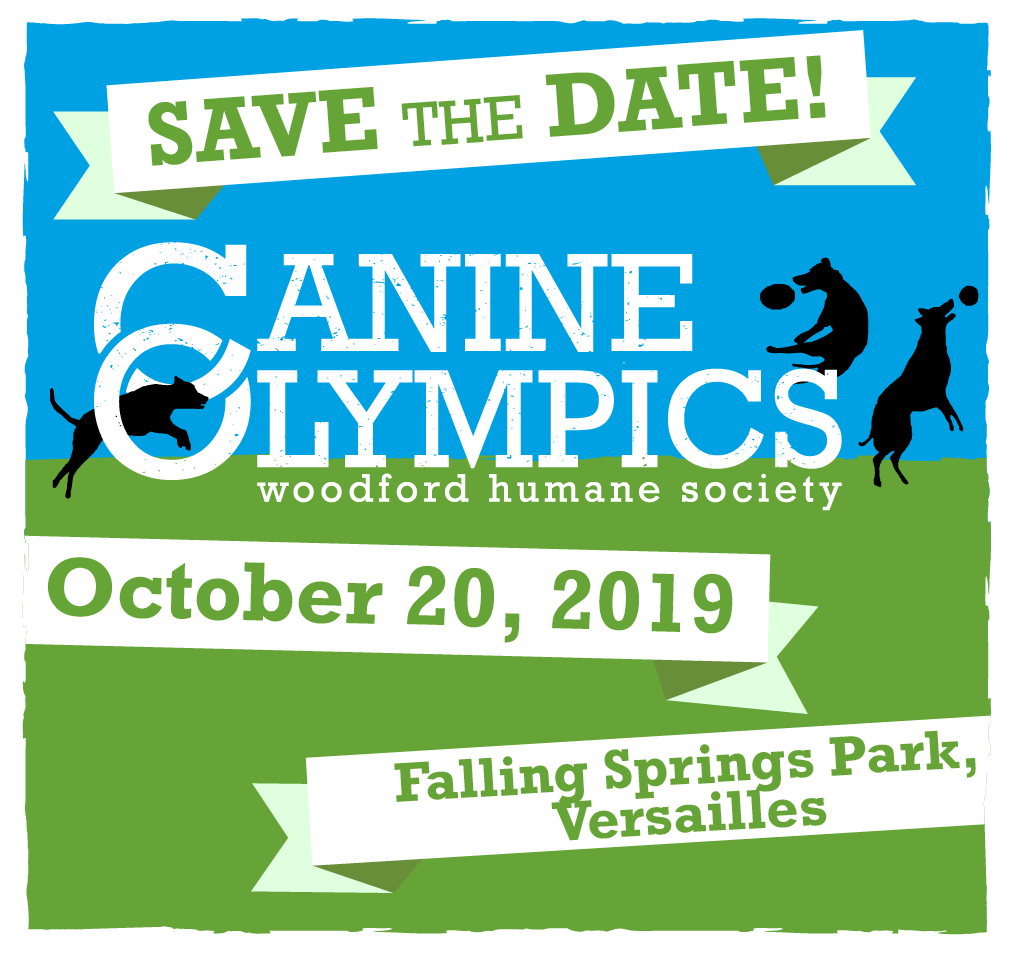 Save the Date! Canine Olympics is October 20